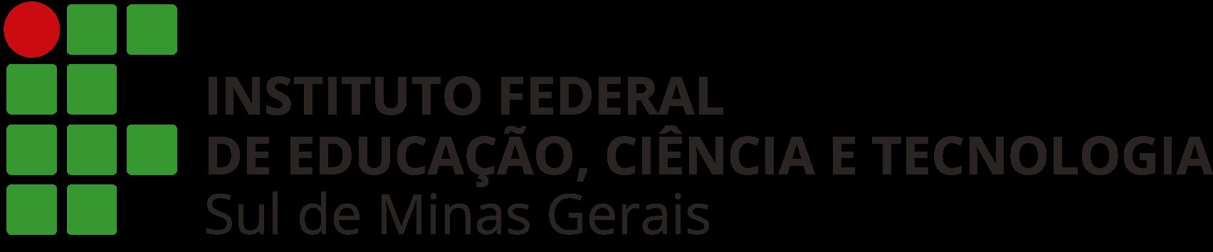 Logotipo do IFSULDEMINAS em aplicações horizontais
