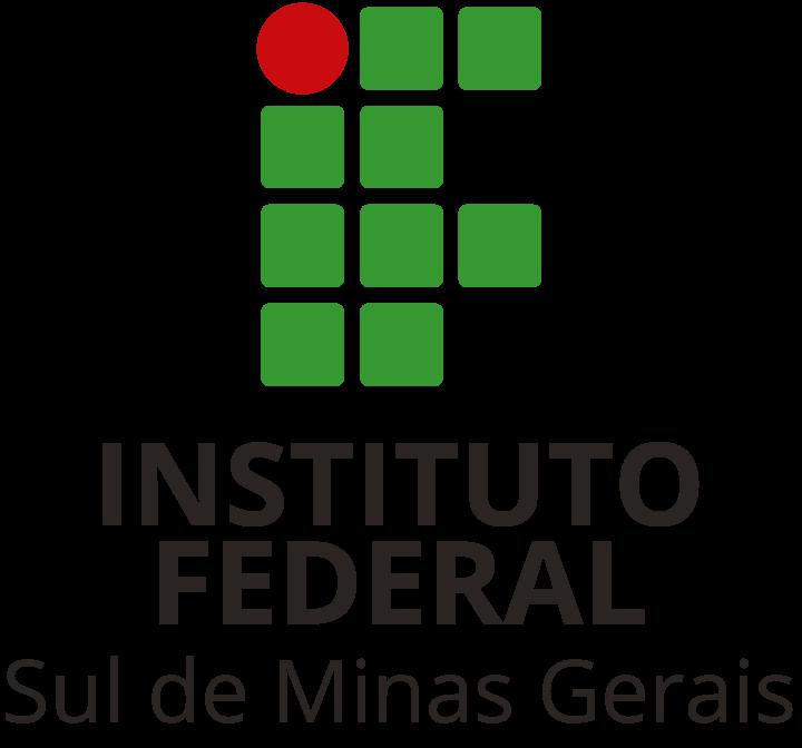 Logotipo do IFSULDEMINAS em aplicações vertical