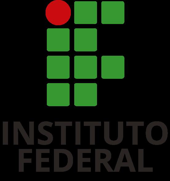Logotipo do Instituto Federal em aplicação vertical